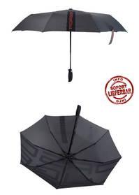 Porsche Regenschirm Taschenschirm Automatisch Auto Zubehör Schwarz Accessoire Räguschirm