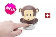 Pusteäffchen Affe Nageltrockner Geschenk Äffchen Blow Monkey NEU