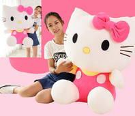 Riesen Pink Hello Kitty Hellokitty Plüschtier Mädchen Geschenk Weihnachten Hit 100cm XXL