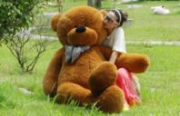 Riesen XXL Teddybär 200cm 2 Meter XXL Plüsch Kuschelbär Plüschbär Weihnachten Geschenk keine 0815 Ware von der Stange