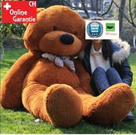 Riesen XXL Teddybär Teddy Bär Plüsch braun 230cm Plüsch Neu XXL Geschenk Weihnachten Geburtstag Kind Kinder Freundin Deko