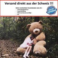 Riesengrosser Teddy Bär Plüschbär Ted Plüschtier 3 Grössen Geschenk XXL Gross Geburtstag