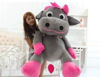 Riesige Plüsch Kuh Plüschkuh 140 cm Gross Geschenk Frau Kind Mädchen