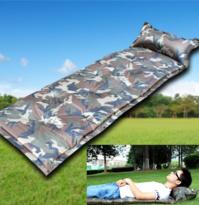 Selbstaufblasbare Camouflage Militär Automatische Luftmatratze Schlafmatte Schlafsack
