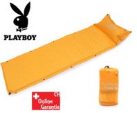 Selbstaufblasbare Playboy Luftmatratze Luft Matratze Schlafsack Schlafmatte Openair Festival Party Camping Zelt Zelten