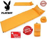 Selbstaufblasbare Playboy Luftmatratze Luft Matratze Schlafsack Schlafmatte Zelt Zelten Openair Outdoor Camping Campen Designer Luxus