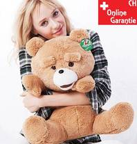 Ted Teddy Bär TED Kinofilm XL Kuschtier Kuschel Bär braun ca. 60cm
