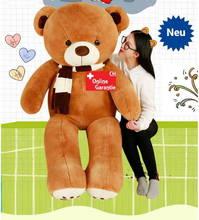 Teddy Bär Teddybär XXL Plüschtier Plüschbär Tedi Päärli Geschenk Frau Freundin Love You Liebe dich verliebt Geburtstag Schweiz
