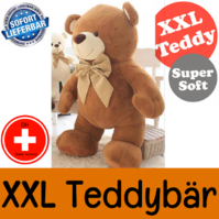 Teddy XXL Teddybär Tedi 210cm Geschenk Bär Plüsch Kind Frau Freundin Plüschtier Kuschelbär XXXL Schweiz