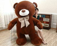 Teddybär Plüsch Bär Teddy Plüschbär 210cm Geschenk Frau Freundin Girl Kind Kinder Braun Dunkelbraun Schweiz Valentinstag