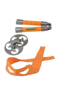 Teenage Mutant Ninja Turtles Ausrüstung Michelangelo Spielzeug Waffen Set TV Serie Orange