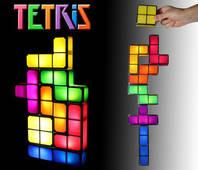 Tetris Lampe Bau Deine eigene Lampe aus Tetrissteinen Geschenk Fan Gadget Retro LED Lampe
