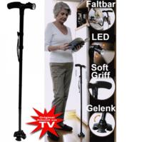 Trusty Cane LED der Gehstock für mehr Sicherheit im Alltag Senior Licht
