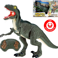 Velociraptor RC Infrarot Spielzeug Dinosaurier Dino Ferngesteuert