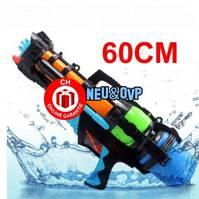 Wasserpistole Wassergewehr 60cm Blaster Wasser Pistole Gewehr Spielzeug Sommer Wasser