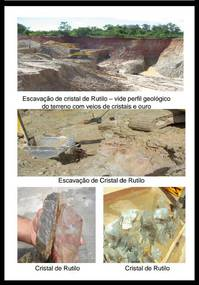 We sell farm  with  crystallized gold deposit ,not explored in  Brazil  very cheap