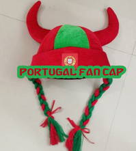 Wikingerhut Portugal Hut Kappe Cap Mütze Fussball WM EM Fan Support