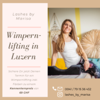 Wimpernlifting in Luzern