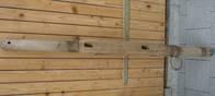 Winde zu altem Heuwaagen alt u. Antik (Holz)