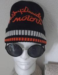 Harley-Davidson Motorcycles Fan Winter Mütze Wintermütze Harley Kappe Beanie Original Biker HD